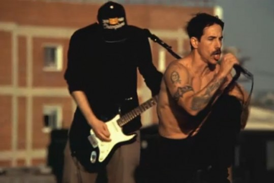Red Hot Chili Peppers Release The Adventures Of Rain Dance Maggie Music Video