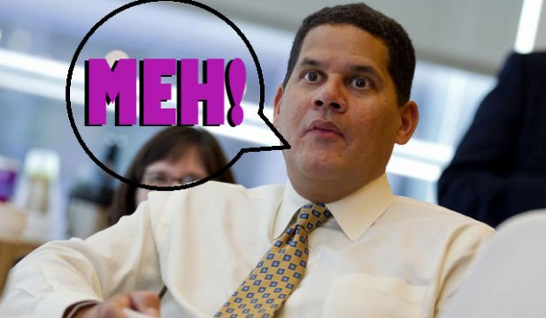 """Reggie Says PS4 And Xbox One Launch Lineups Are """"Meh,"""" Wii U Offering Looks Better"""