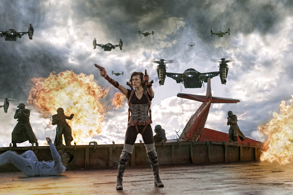 Resident Evil: Retribution Blu-Ray Review