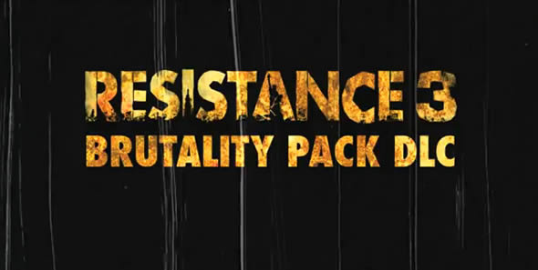 Resistance 3 Brutality Trailer Is So Metal
