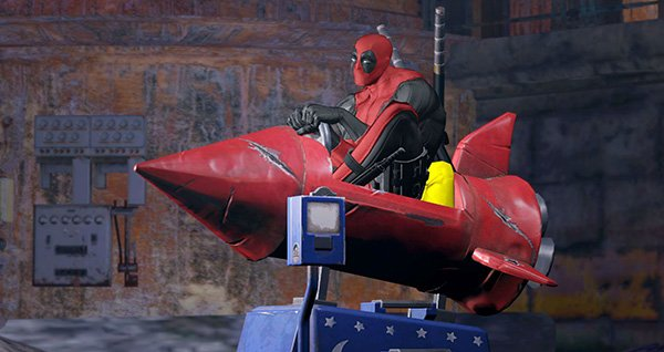 RideWithMe Deadpool Game Unveils New Screenshots