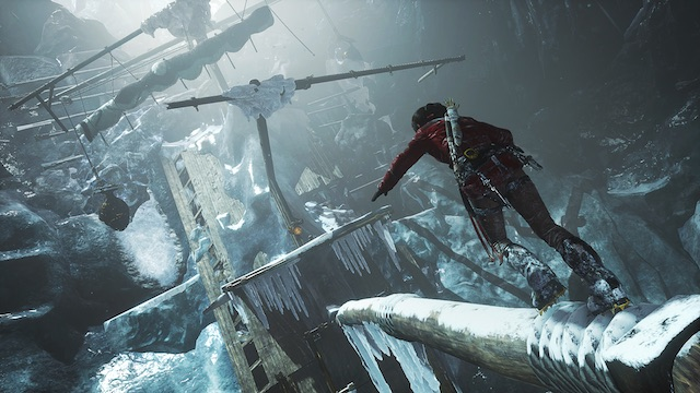 Rise of the Tomb Raider Ice Screenshot
