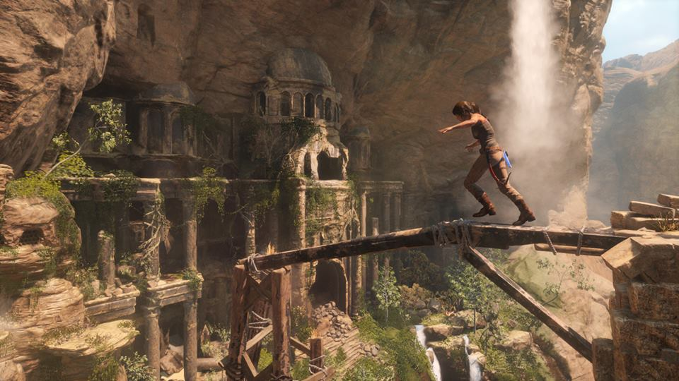 Extended Rise Of The Tomb Raider Gameplay Sees Lara Battle The Elements