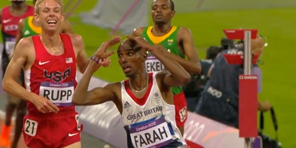 Mo Farah And Galen Rupp Make History In The 10,000m