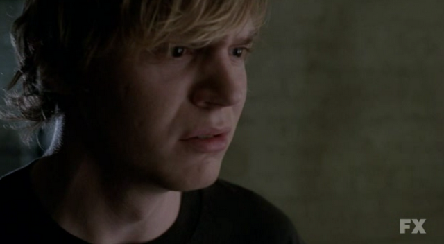 S01E01 Evan Peters as Tate Langdon American Horror Story