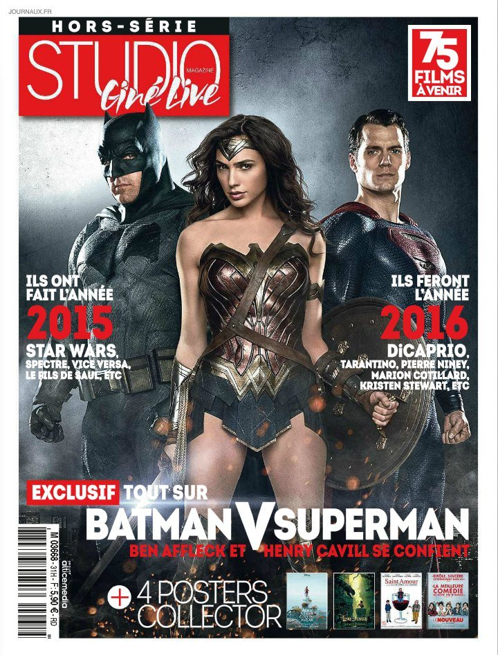 New Look At Gal Gadot's Wonder Woman On French Magazine Cover