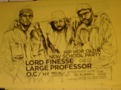 Lord Finesse, O.C. And Large Professor Form Group