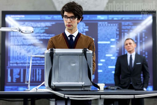 First Image Of Ben Whishaw As Q In Upcoming James Bond Film Skyfall