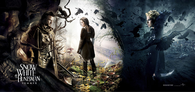 Dramatic New Banner For Snow White And The Huntsman