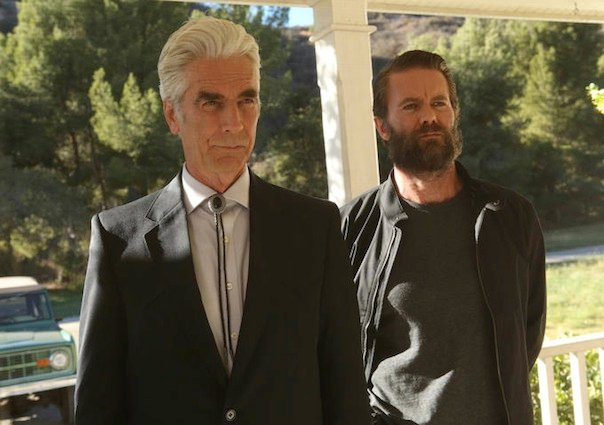 Sam Elliot and Garret Dillahunt in Justified