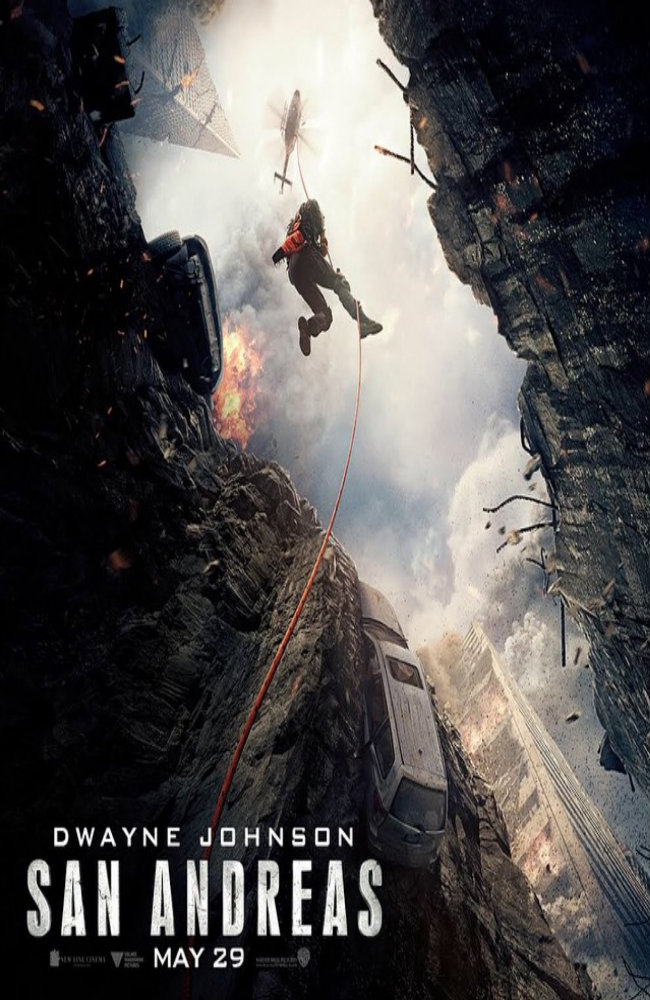 Dwayne Johnson Tackles The Big One In New Poster For Disaster Pic San Andreas