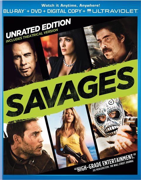 Savages Blu-Ray Review