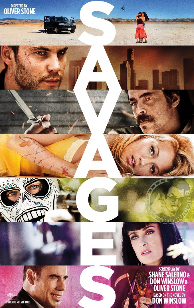 First Poster For Oliver Stone's Savages