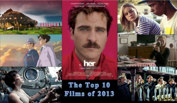 Top 10 Films 2013 Jonathan Lack