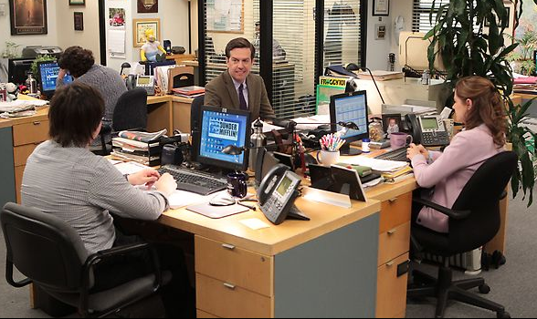 the office livin the dream andy