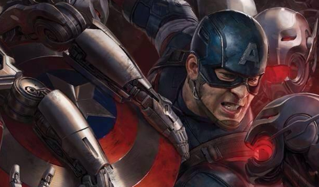 Captain America And Black Widow Get Avengers: Age Of Ultron Comic-Con Posters