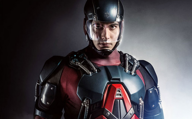 First Look At Brandon Routh In Costume As The Atom On Arrow