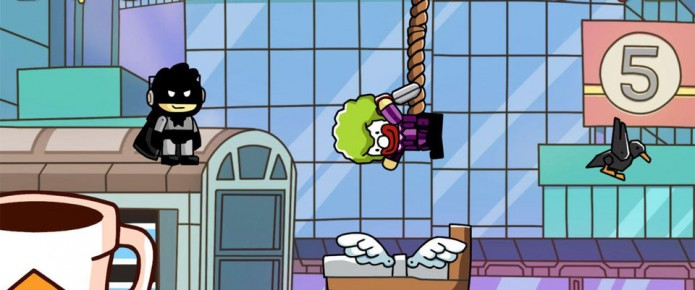 Scribblenauts Unmasked: A DC Adventure Officially Unveiled