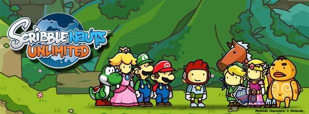 Nintendo Characters Will Make An Appearance In Scribblenauts Unlimited
