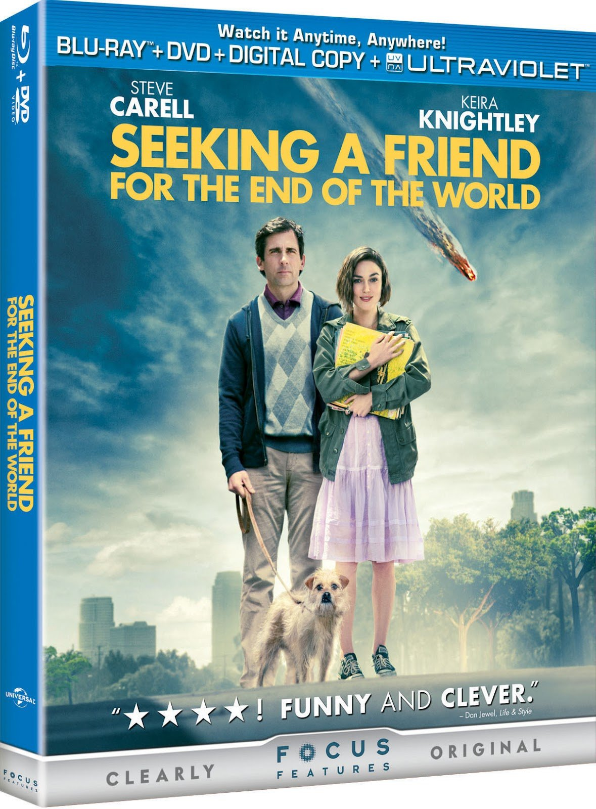 Seeking A Friend For The End Of The World Blu-Ray Review