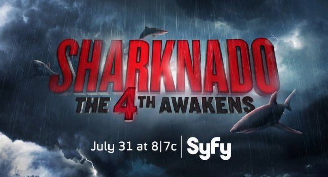 First Teaser For Sharknado: The 4th Awakens Is As Nutty As You'd Expect