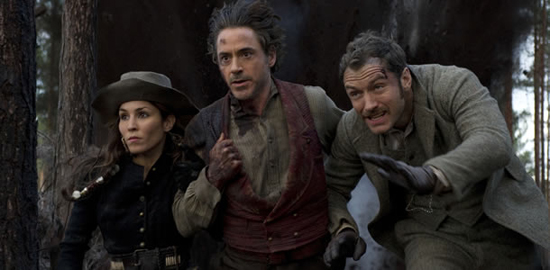 First Official Photo Off The Set Of Sherlock Holmes II