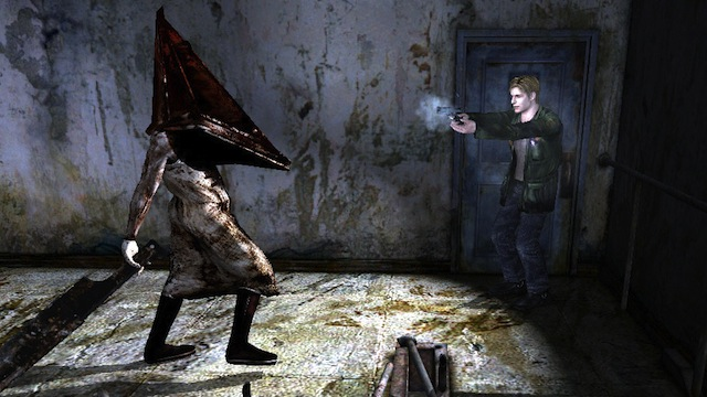 Silent Hill 2 HD Pyramid Head Nato And Remys Last Stand: Moments In Horror Gaming That Made Us Pee A Little
