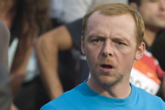 Simon Pegg star as Dennis in comedy movie Run Fat Boy Run. Photo by Ollie Upton. 2007 Picturehouse 6 960x642 538x360 Is Simon Pegg Going To Play Ant Man For Edgar Wright?