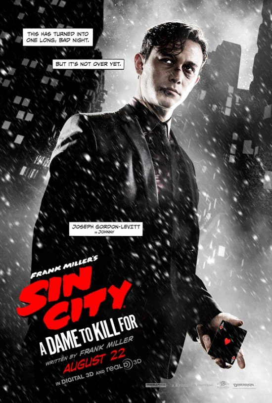 New Character Posters For Sin City: A Dame To Kill For Introduce Us To The Main Characters