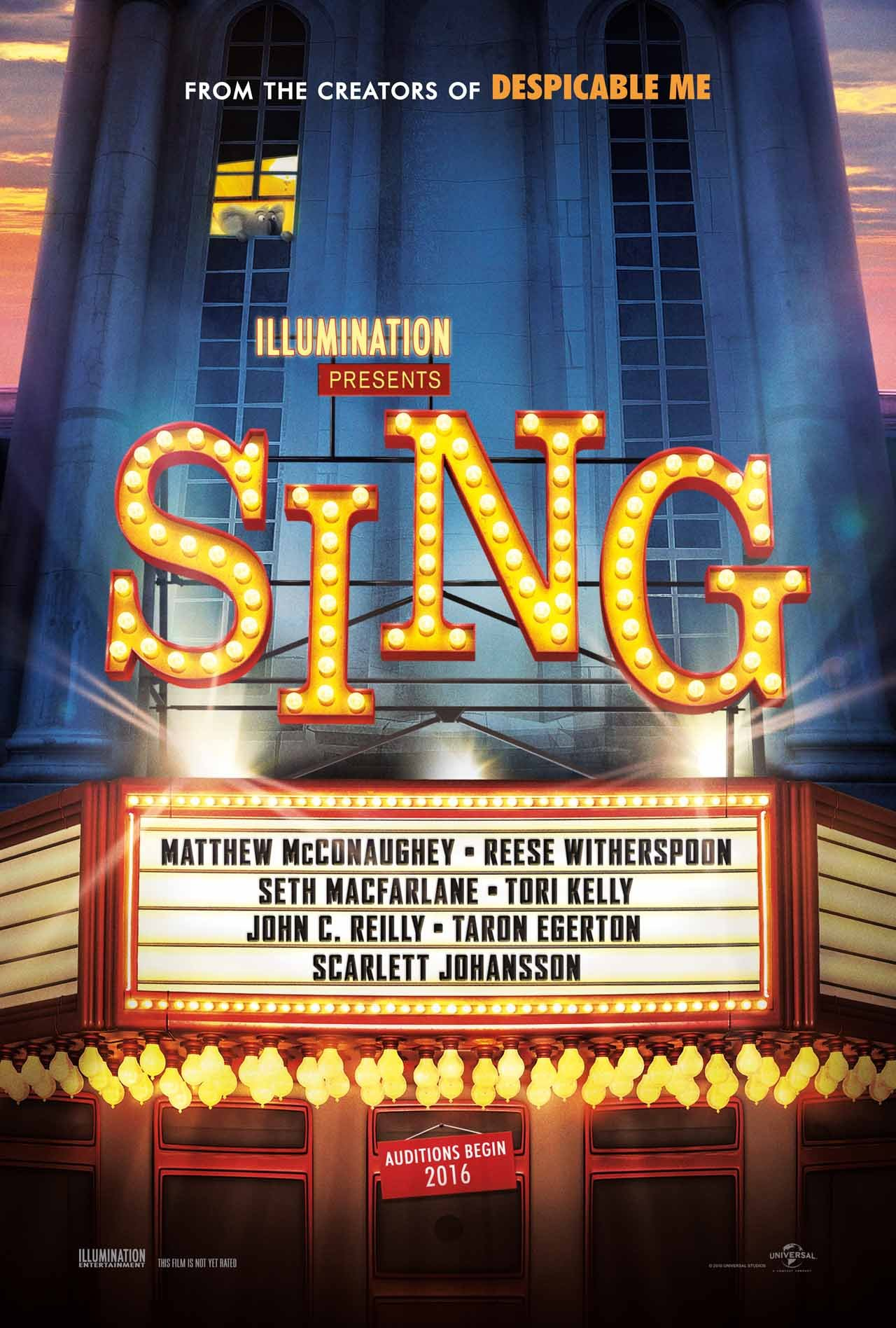 Matthew McConaughey Hosts A Talent Show In First Trailer For Sing