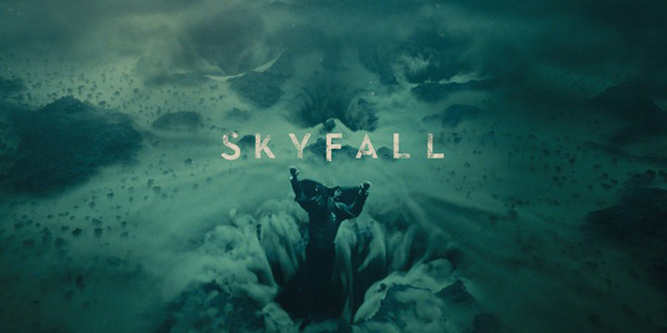 Skyfall opening title James Bond Is Dead, Long Live James Bond: A Closer Look At Skyfall