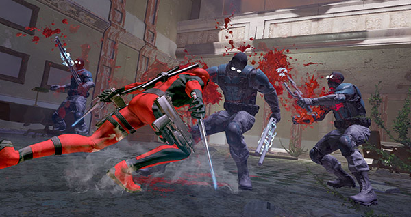 Slash Deadpool Game Unveils New Screenshots