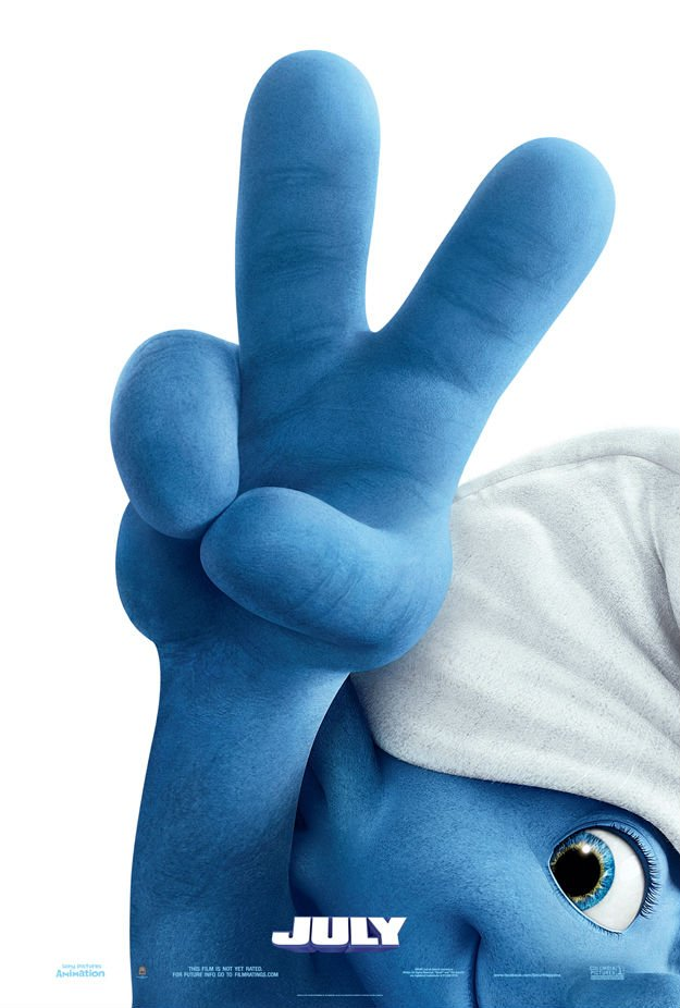 Smurfs 2 Teaser Poster1 The Smurfs 2 Hitting Theaters This July, New Poster Revealed