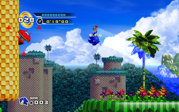Sonic 4 Splash Hill Zone Sonic The Hedgehog 4: Episode 1 Review