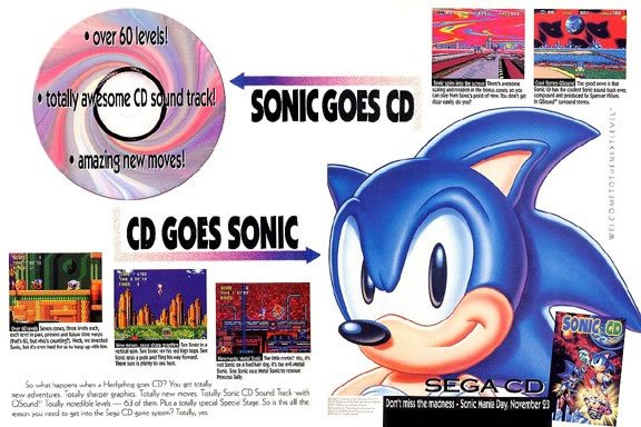 Relive Sonic CD On XBLA, Coming Soon
