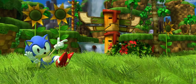 Sonic Generations sonic lounging Sonic Generations Review
