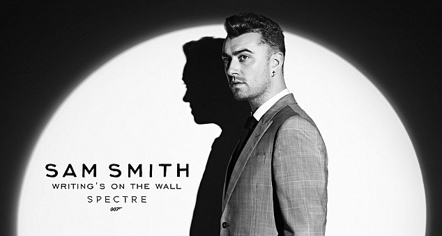 Sam Smith Posts Brief Teaser Of Spectre Theme Song Writing's On The Wall