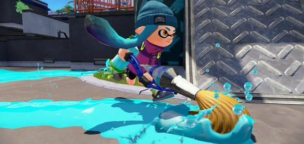 Splatoon Adds Yet Another Free DLC Weapon