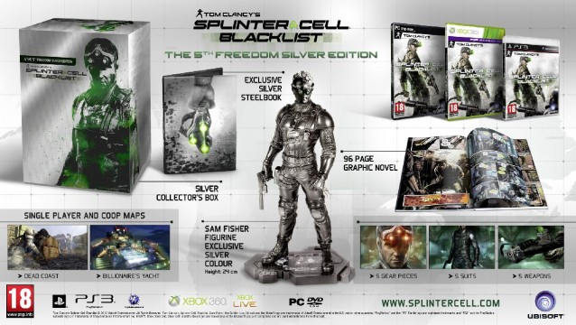 SplinterCellBlacklist5thFreedomEdition 638x360 Splinter Cell: Blacklist Breaks Down Its Special Edition Variants