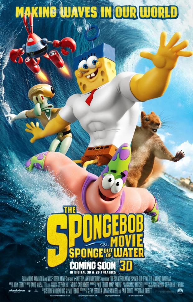 The SpongeBob Movie: Sponge Out Of Water Trailer Is Everything A Superhero Movie Should Be