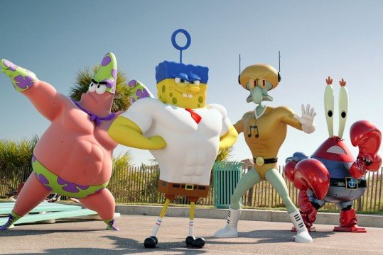 First Look At SpongeBob: Sponge Out Of Water Movie Is Really, Really Weird