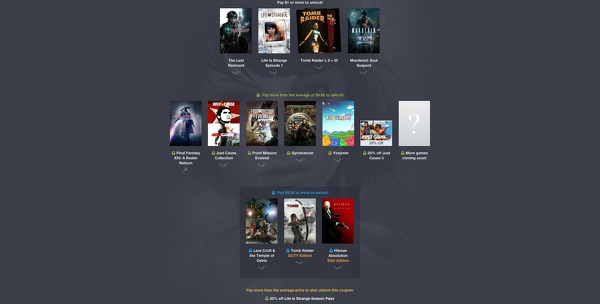 Square Enix Are Now Offering Their Third Humble Bundle