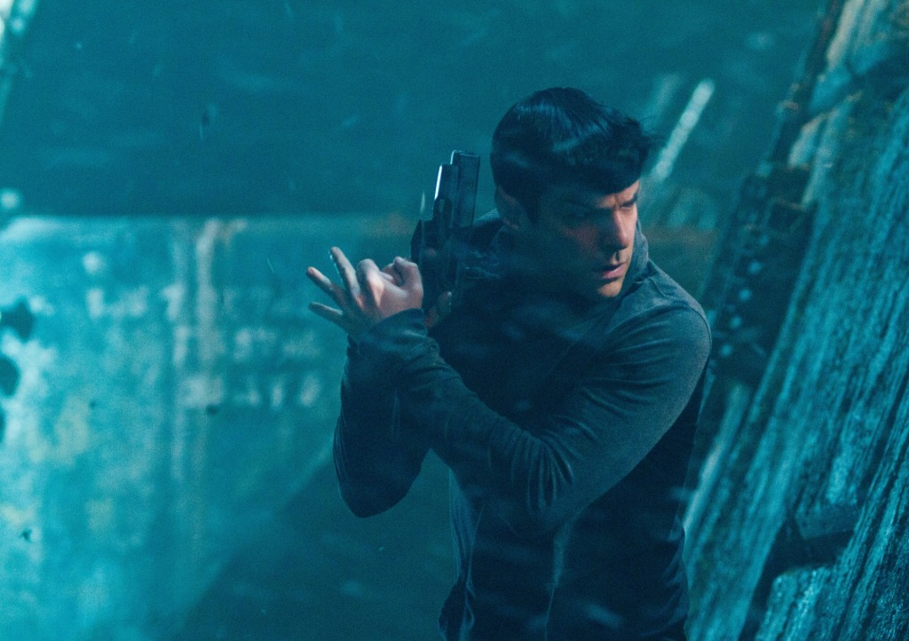 Star Trek Into Darkness Armed Spock Star Trek Into Darkness Gallery