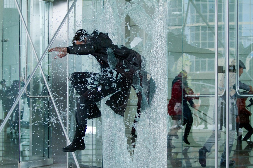 Star Trek Into Darkness Harrison Crashing through Window Star Trek Into Darkness Gallery