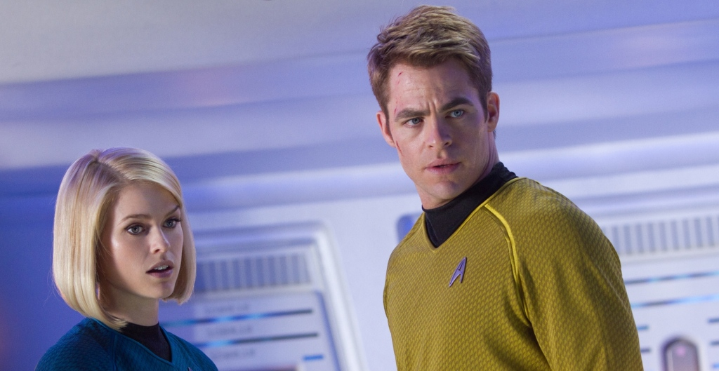 Star Trek Into Darkness Kirk and Carol Marcus Star Trek Into Darkness Gallery