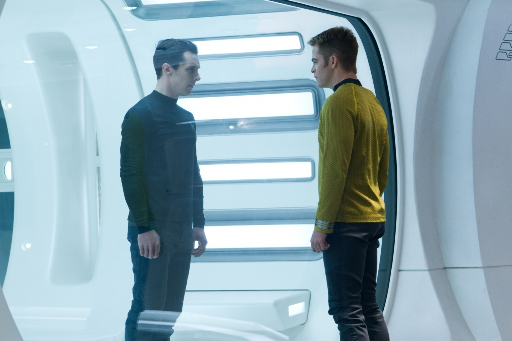 Star Trek Into Darkness Kirk and Harrison Star Trek Into Darkness Gallery