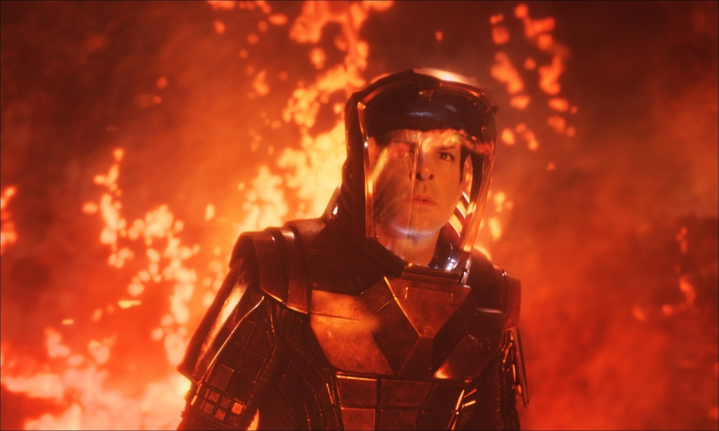 Star Trek Into Darkness Spock in Volcano Suit Star Trek Into Darkness Gallery