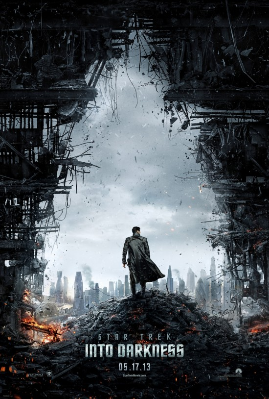 Star Trek Into Darkness Teaser Poster 550x814 Star Trek Into Darkness Gallery