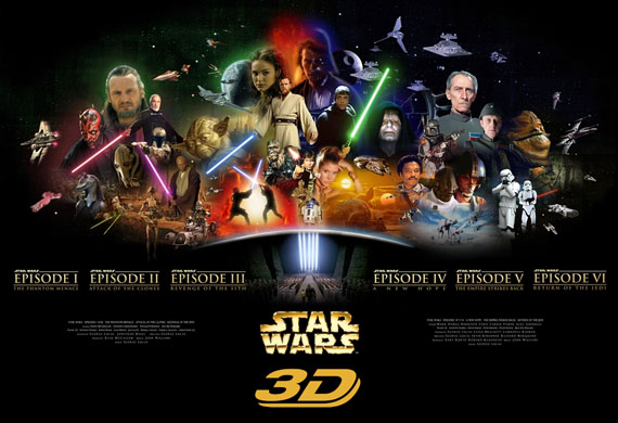 Star Wars Episode II And III 3D Release Dates Announced