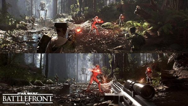 No Split-Screen Support For Star Wars Battlefront On PC As DICE Talks Vehicle Interplay